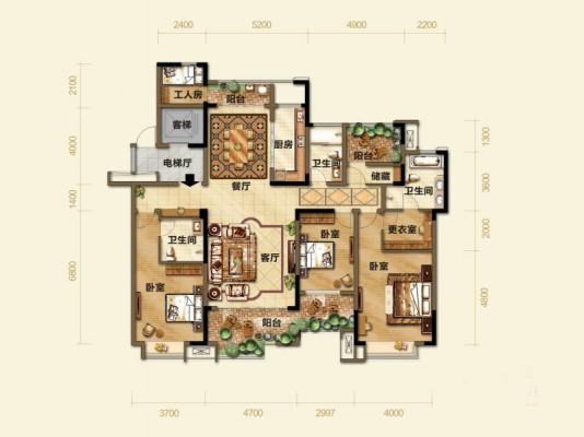 江山自建房屋设计图
