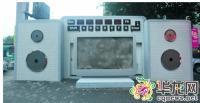 收音机造型的公厕,有没有让你眼前一亮?