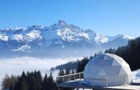外媒盘点未来派怪诞滑雪度假小屋