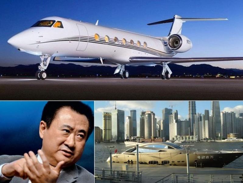 """中国富豪崛起:私人飞机成""""标配"""""""